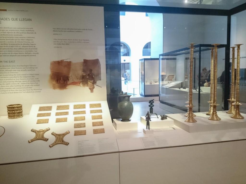 El Tesoro del Carambolo, una de las muestras más relevantes del Museo