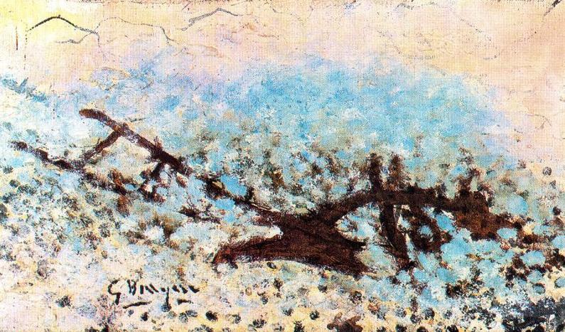 """Una de las obras más tardías, """"The Plow"""", de 1961"""
