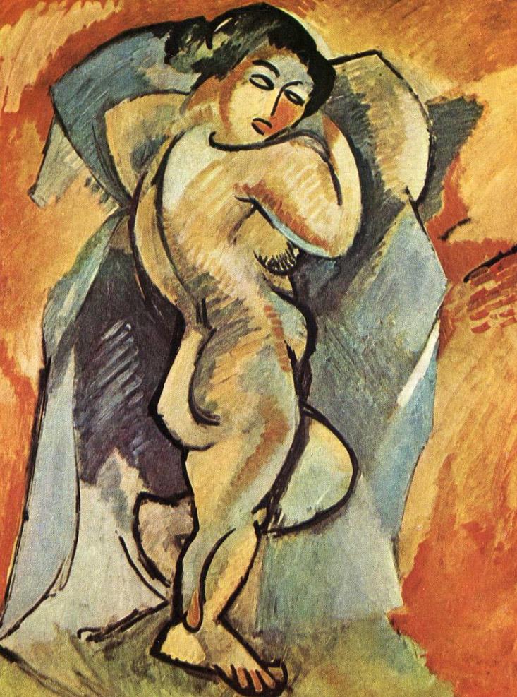 Uno de los primeros acercamientos de Braque al cubismo (1908)
